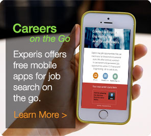 Experis offers free mobile apps for jobs on the go. Learn more.