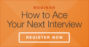 Ace Your Interview Webinar Registration